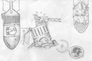 Ork sentry bomb by nornagesta
