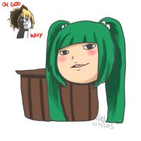 What Kisume looks like outside of her bucket by CaptainAyon