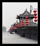 Xian City Wall II - B+W by bukephalas