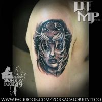 tiger girl tattoo by zorka calore tattoo by surfboyz12