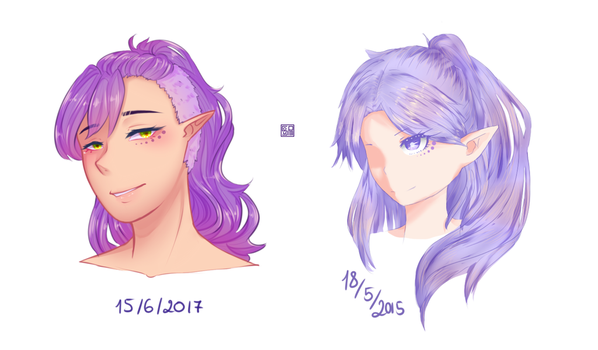 After and  Before by Kawaii-SoupBowl
