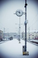 Snow in Turku by Lucem
