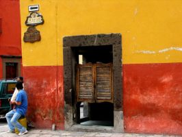 Old Mexican Cantina by molksal