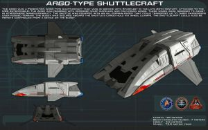 Argo type shuttlecraft ortho [New] by unusualsuspex