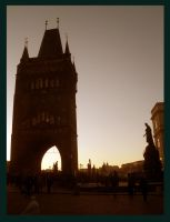 Enter into the Charles bridge by What-is-worth