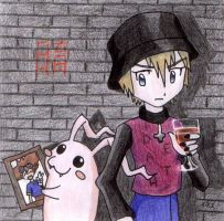 CD cover Goth TK and Fluffy by ine-rocks