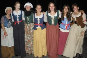 7 Les Mis Bodices by Durnesque