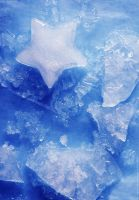 ice on blue. by Proseuche