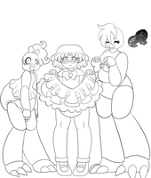 Comm: Dress up with the Chicas by AD-SD-ChibiGirl
