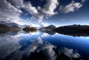 Lake Bled, Slovenia by onelegout