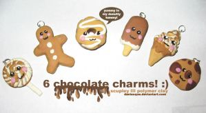 Oh my.. Chocolate Charms by daniesque