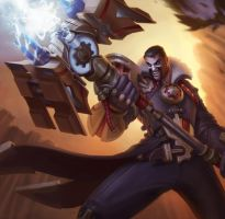 jayce League of Draven! by armice