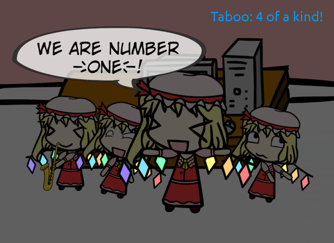 W-A-D (10): We are Number One, but with Flandre by HTFCirno2000