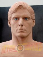 CHRISTOPHER REEVE BUST 0.3 by supersebas