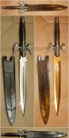 Dragon Wing Sword Prop 4 Views by FantasyStock