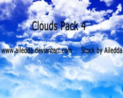 Clouds Pack 4 by Ailedda