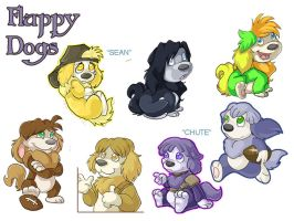 Fluppy Dogs - Practice Sheet by Cameo-Chan