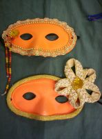 Romeo and Juliet Masks VII by Fruits-Punch-Samurai