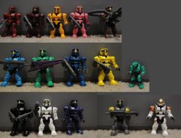RvB Megablox Cast by bobrox15