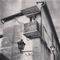 Old balcony by cortomaltese219