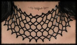 Lilith choker by Cayca