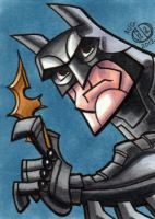 Batman Dark Knight Sketch Card by Chad73