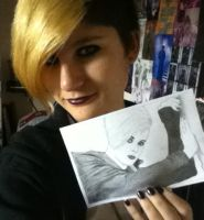 Me And My Tommy Drawing :3 by AlexRose312