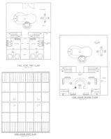 Pool House floor_roof plans by A-han-343