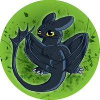 toothless Badge by lorestra