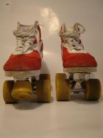 Roller skates stock-photo 2 by damnlife-stock