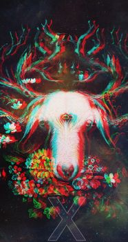3D Goat Wallpaper by grieves115