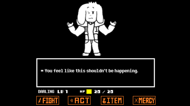 The Picture That Might Show When You Fight Asriel by JustinCalhoun