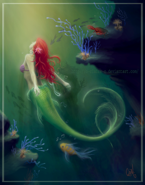 + The Little Mermaid + by o-LilSweets-o