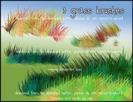 GRASS brushes by mejony