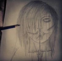 Horror drawing (??) by MeoAD