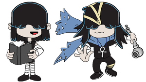 Pure Goths and Ninja Goths by Greasy-LucarioYun