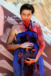 Zombie pregnant - Hungry(angry?) mom LOL by KatherineHeartless