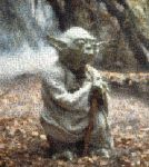 yoda photomosaic by brokoloid