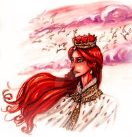 I am queen -traditional- by Fidi-s-Art