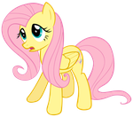 Fluttershy is shocked. by theawkwardstage