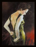 The green gown. by mdesplanteurs