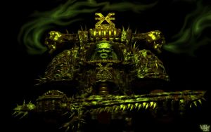 Chaos Marine 3D - version 2 by psionic