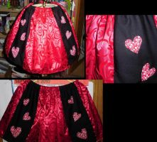 Queen of Hearts Skirt by supermutts