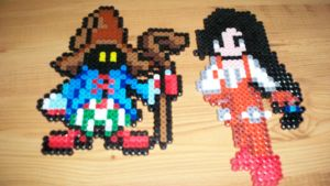 ff9 sprits by fontainekia