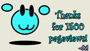 Thanks for 1500 pageviews :3 by ViViTheDaRk