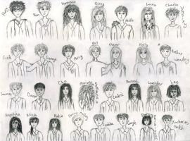 Harry Potter characters - pg 1 by SquirrelGirl111