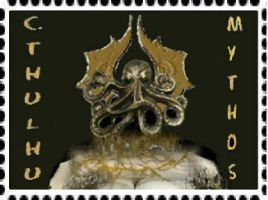 Cthulhu Mythos Stamp by mmpratt99