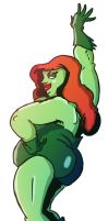 chubby Poison Ivy by TheNoirGuy