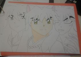 Inuyasha 2 (in progress) by AngelHanna