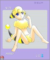 PKMN Gijinka Project: Mareep by TheIncarnationPokemo